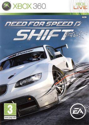 Copertina del gioco Need for Speed: Shift per Xbox 360