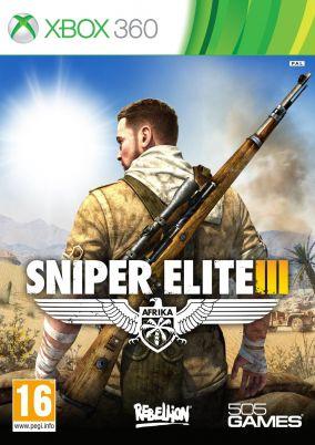 Copertina del gioco Sniper Elite 3 per Xbox 360
