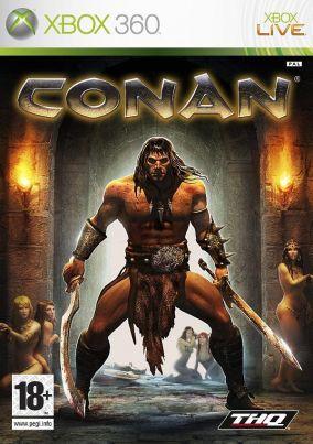 Copertina del gioco Conan per Xbox 360