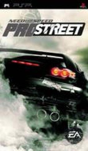 Immagine della copertina del gioco Need for Speed Pro Street per PlayStation PSP