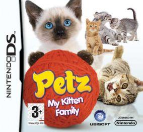 Immagine della copertina del gioco Petz: My Kitten Family per Nintendo DS