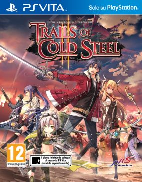 Copertina del gioco The Legend of Heroes: Trails of Cold Steel II per PSVITA