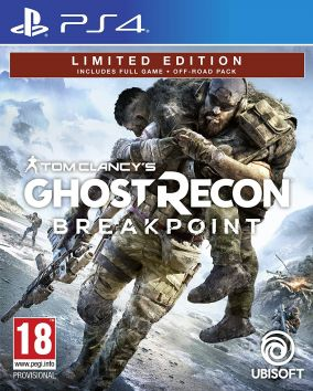 Copertina del gioco Tom Clancy's Ghost Recon Breakpoint per PlayStation 4