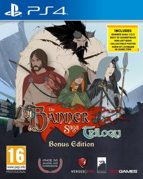 Copertina del gioco The Banner Saga Trilogy: Bonus Edition per PlayStation 4