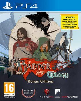 Immagine della copertina del gioco The Banner Saga Trilogy: Bonus Edition per PlayStation 4