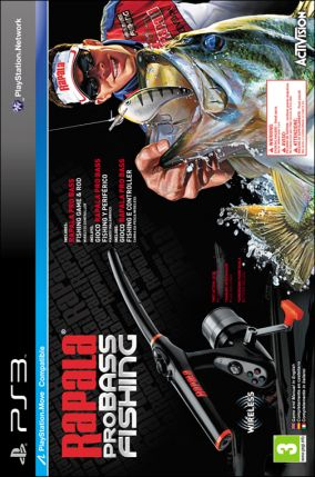 Copertina del gioco Rapala Pro Bass Fishing per PlayStation 3