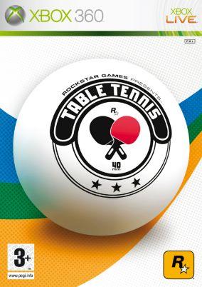 Immagine della copertina del gioco Table tennis per Xbox 360