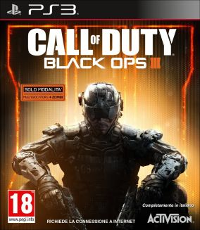 Copertina del gioco Call of Duty Black Ops III per PlayStation 3