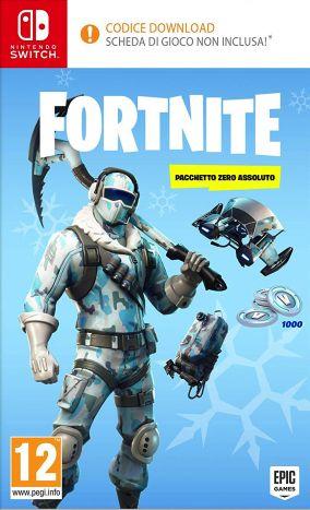 Immagine della copertina del gioco Fortnite: Pacchetto Zero Assoluto per Nintendo Switch