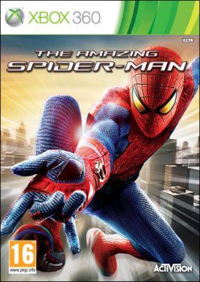 Copertina del gioco The Amazing Spider-Man per Xbox 360