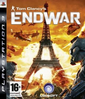 Copertina del gioco Tom Clancy's EndWar per PlayStation 3