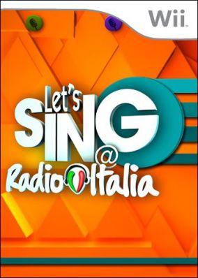 Copertina del gioco Let's Sing @ Radio Italia per Nintendo Wii