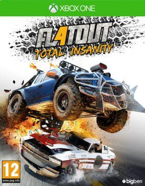 Immagine della copertina del gioco FlatOut 4: Total Insanity per Xbox One