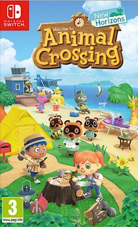 Copertina del gioco Animal Crossing : New Horizons per Nintendo Switch