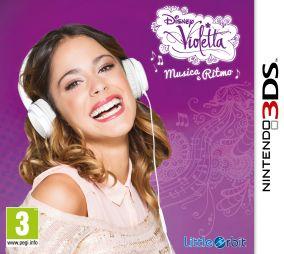 Immagine della copertina del gioco Violetta: Musica e Ritmo per Nintendo 3DS