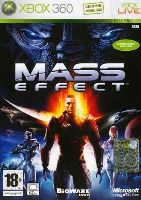 Copertina del gioco Mass Effect per Xbox 360