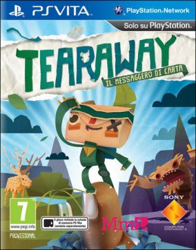 Copertina del gioco Tearaway per PSVITA