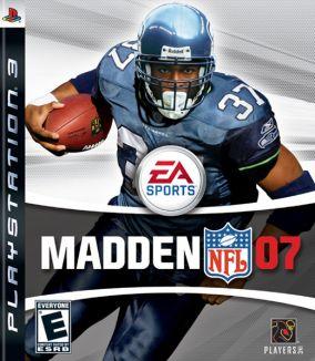 Copertina del gioco Madden NFL 07 per PlayStation 3