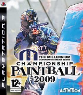 Copertina del gioco Millenium Series Championship Paintball 2009 per PlayStation 3