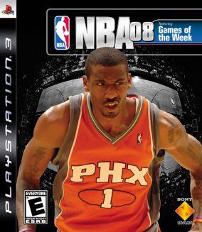 Copertina del gioco NBA 08 per PlayStation 3