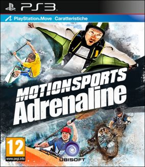 Copertina del gioco Motionsport Adrenaline per PlayStation 3