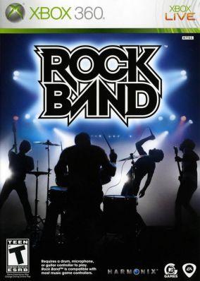 Copertina del gioco Rock Band per Xbox 360