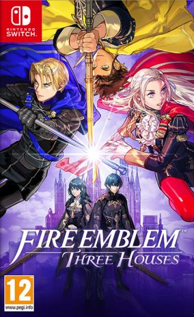 Copertina del gioco Fire Emblem: Three Houses per Nintendo Switch