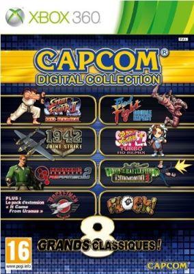 Copertina del gioco Capcom Digital Collection per Xbox 360