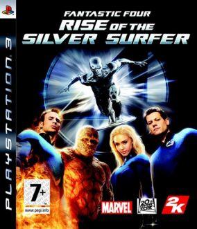 Copertina del gioco I Fantastici 4 The Rise of Silver Surfer per PlayStation 3