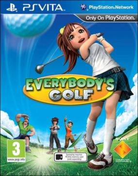 Copertina del gioco Everybody's Golf per PSVITA