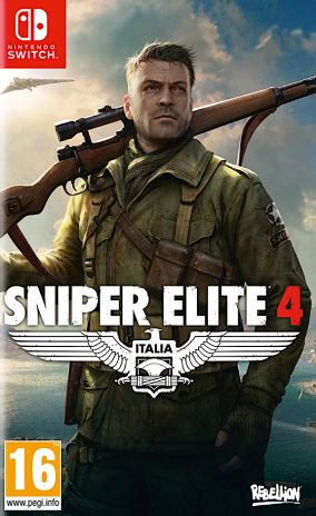 Copertina del gioco Sniper Elite 4 per Nintendo Switch