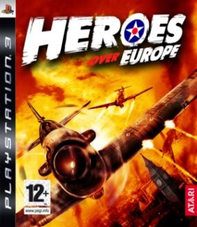 Copertina del gioco Heroes over Europe per PlayStation 3