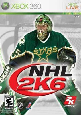 Copertina del gioco NHL 2K6 per Xbox 360