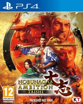 Copertina del gioco Nobunaga's Ambition: Taishi per Playstation 4