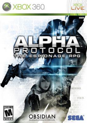 Immagine della copertina del gioco Alpha Protocol per Xbox 360