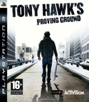 Copertina del gioco Tony Hawk's Proving Ground per PlayStation 3
