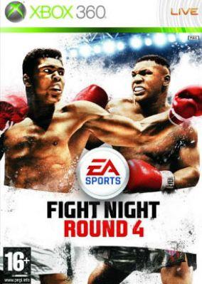 Copertina del gioco Fight Night Round 4 per Xbox 360