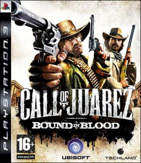 Copertina del gioco Call of Juarez: Bound in Blood per PlayStation 3