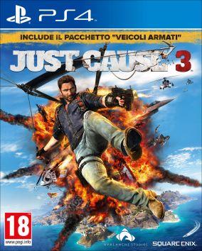 Immagine della copertina del gioco Just Cause 3 per Playstation 4