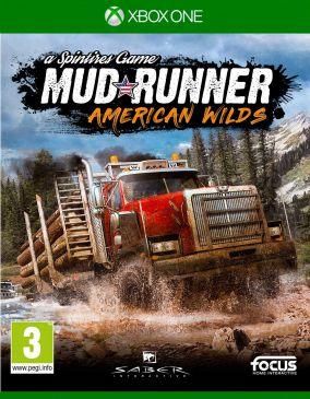 Immagine della copertina del gioco Spintires: MudRunner - American Wilds Edition per Xbox One