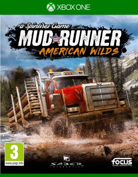 Copertina del gioco Spintires: MudRunner - American Wilds Edition per Xbox One