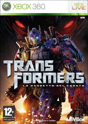 Copertina del gioco Transformers: La Vendetta del Caduto per Xbox 360