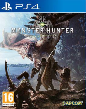 Immagine della copertina del gioco Monster Hunter: World per PlayStation 4
