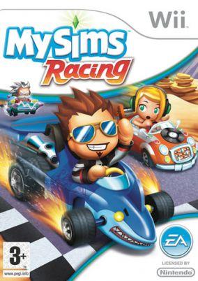 Immagine della copertina del gioco Mysims racing per Nintendo Wii