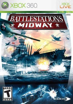 Immagine della copertina del gioco Battlestations Midway per Xbox 360