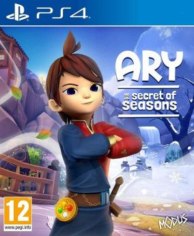 Copertina del gioco Ary and the Secret of Seasons per PlayStation 4