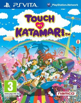 Copertina del gioco Touch My Katamari per PSVITA