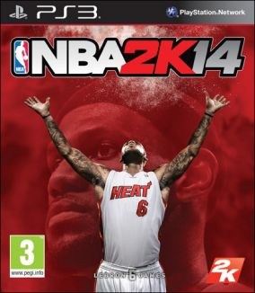 Immagine della copertina del gioco NBA 2K14 per PlayStation 3