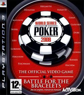 Copertina del gioco World Series of Poker 2008: Battle For The Bracelets per PlayStation 3