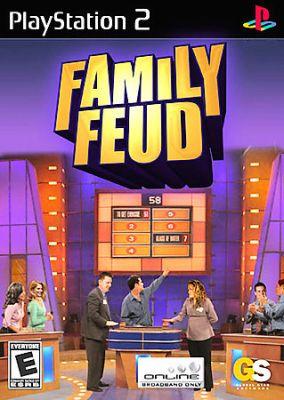 Copertina del gioco Family Feud per PlayStation 2